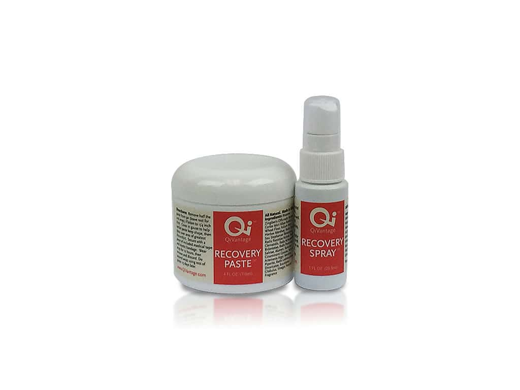 QiVantage Recovery Paste and Recovery Spray