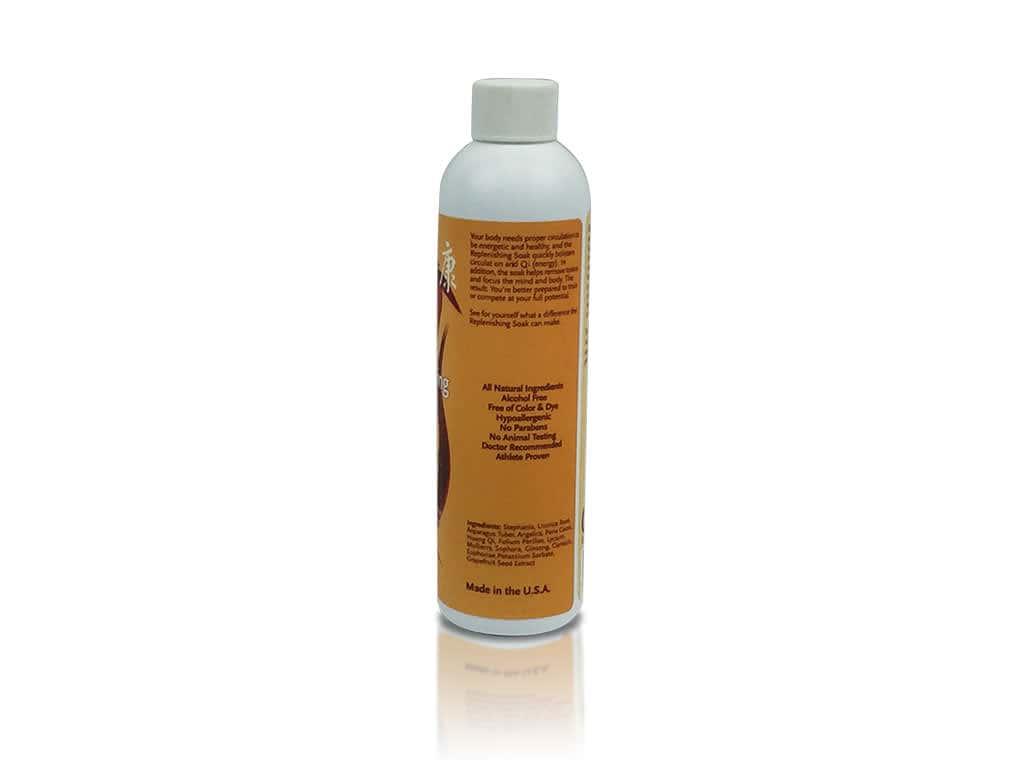 QiVantage Replenishing Soak Ingredients